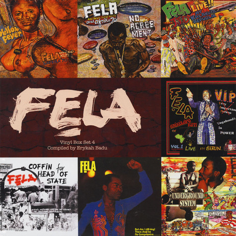 Fela Kuti - Box Set # 4 Curated By Erykah Badu
