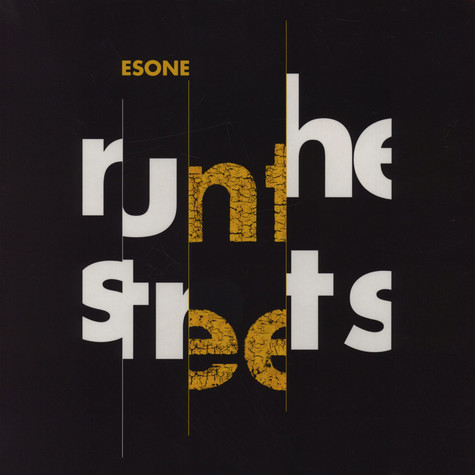 Esone - Run The Streets EP Black Vinyl Edition