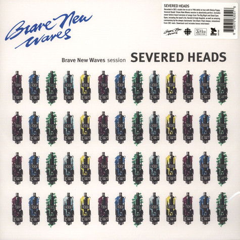 Severed Heads - Brave New Waves Session Black Vinyl Edition