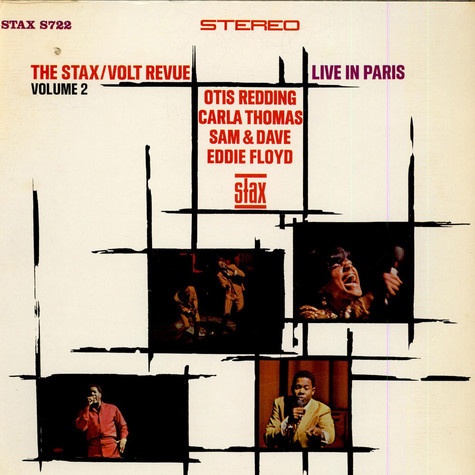 Various - The Stax / Volt Revue Volume 2  Live In Paris