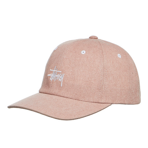 Stüssy - Washed Stock Low Pro Cap (Dusty Pink)  e2b99904a2b