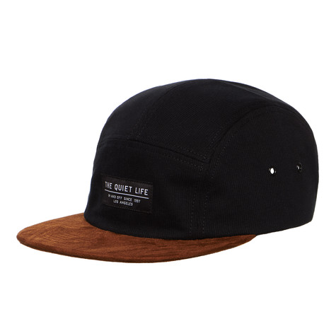 The Quiet Life - Cord Combo 5-Panel Camper Hat