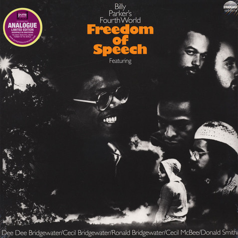 Billy Parker's Fourth World - Freedom Of Speech