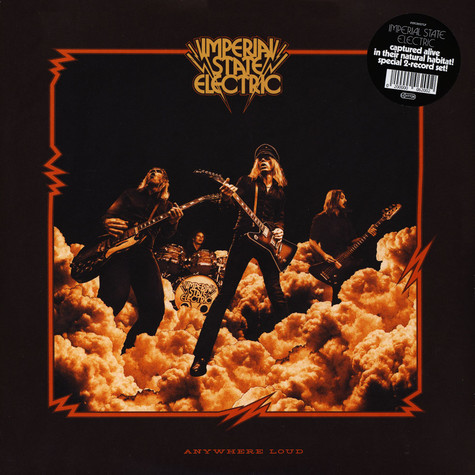 Imperial State Electric - Anywhere Loud Black Vinyl Edition