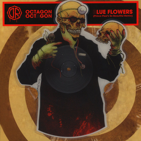 Dr. Octagon - Blue Flowers (Prince Paul Remix) Shaped Picture Disc Edition