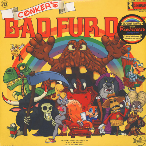 Robin Beanland - OST Conkers Bad Fur Day