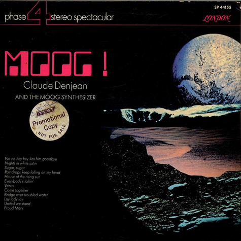 Claude Denjean - Moog! Claude Denjean And The Moog Synthesizer
