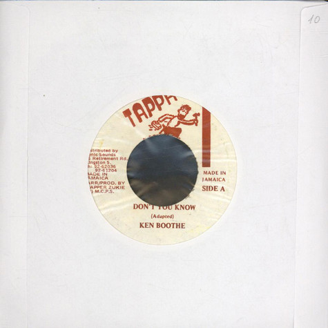 Ken Boothe - Don't You Know