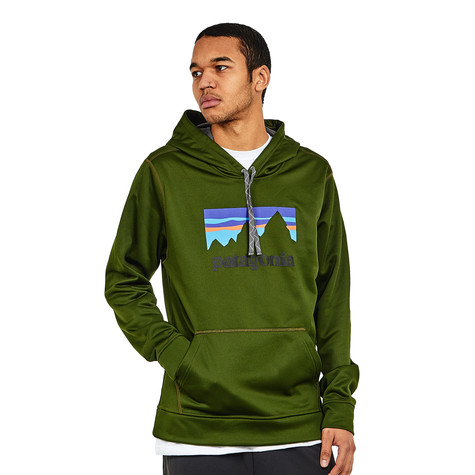 Patagonia - Shop Sticker PolyCycle Hoody