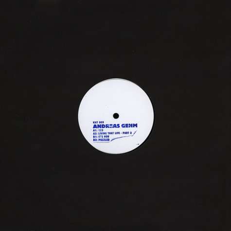 Andreas Gehm - Living That Life EP