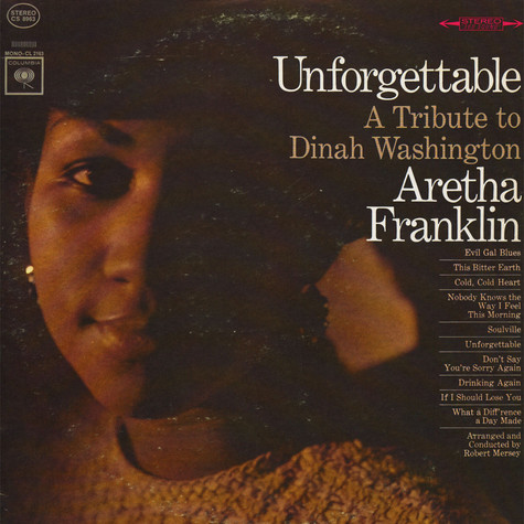 Aretha Franklin - Unforgettable - A Tribute To Dinah Washington
