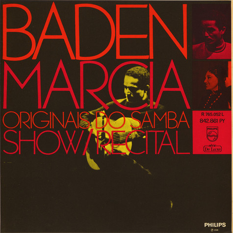 Baden Powell/ Marcia / Os Originais Do Samba - Show / Recital