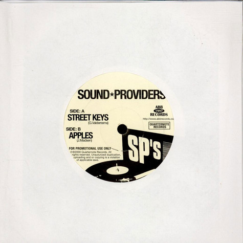 Sound Providers - Street Keys