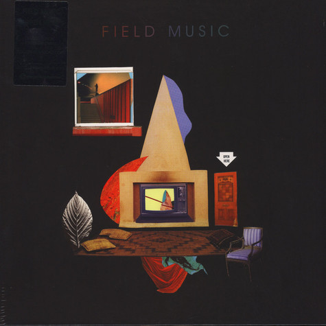 Field Music - Open Here Transparent Vinyl Edition