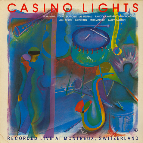 V.A. - Casino Lights - Recorded Live At Montreux, Switzerland