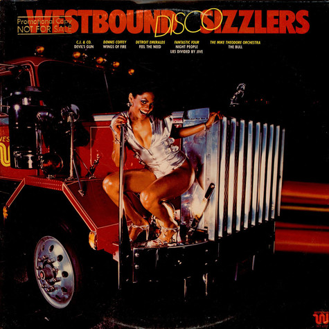 V.A. - Westbound Disco Sizzlers