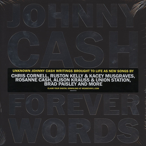 V.A. - Johnny Cash: Forever Words