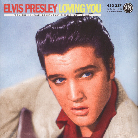 Elvis Presley - Loving You RSD 2018 Yellow Vinyl Edition