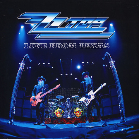ZZ Top - Live From Texas Black Vinyl Edition