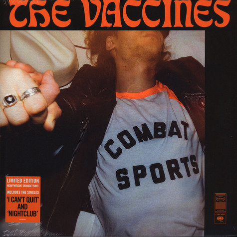 Vaccines, The - Combat Sports Orange Vinyl Deluxe Edition