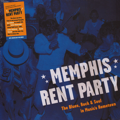 V.A. - Memphis Rent Party Black Vinyl Edition