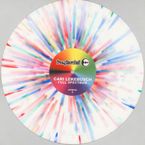 Cari Lekebusch - Full Spectrum White/Rainbow Splatter Vinyl Edition