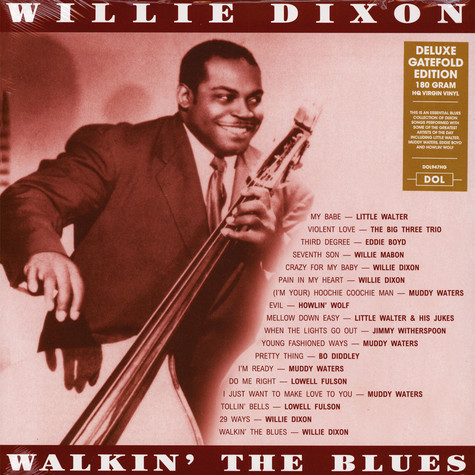 Willie Dixon - Walkin' The Blues Gatefold Sleeve Edition