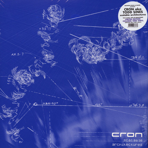 Cron (Todd Sines) - Scalable Architectures Blue Vinyl Edition