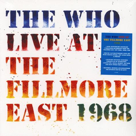 Who, The - Live At The Fillmore 50th Anniversary Edition
