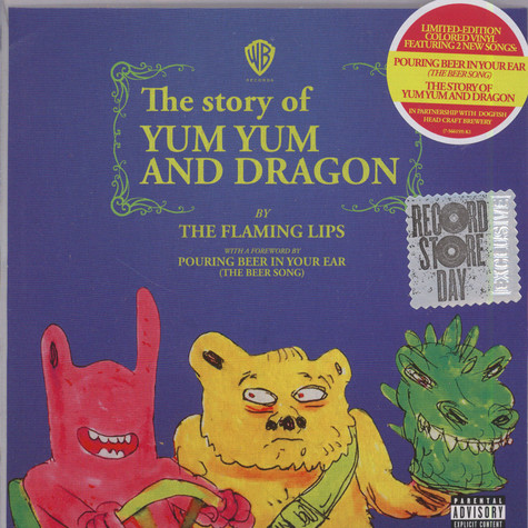 Flaming Lips, The - Pouring Beer in Your Ear / Yum Yum and Dragon