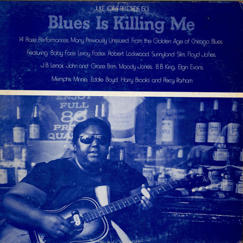 V.A. - Blues Is Killing Me