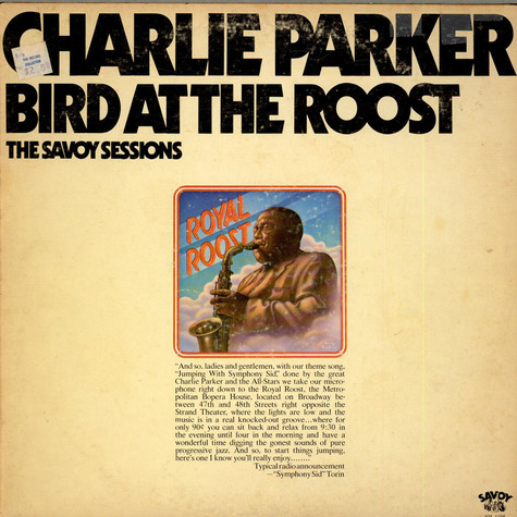 Charlie Parker - Bird At The Roost