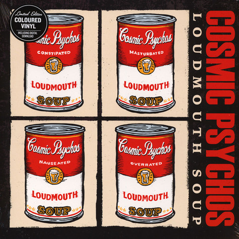 Cosmic Psychos - Loudmouth Soup Red Vinyl Edition