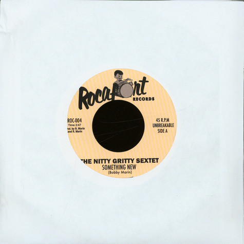 The Nitty Gritty Sextet - Something New / Nitty Boo Boo