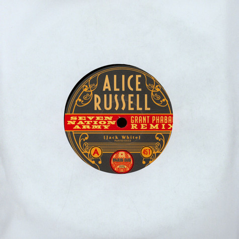 Alice Russell - Seven Nation Army / Humankind (Grant Phabao Remixes)