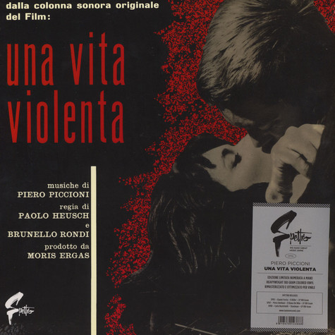 Piero Piccioni - OST Una Vita Violenta Coloured Vinyl Edition
