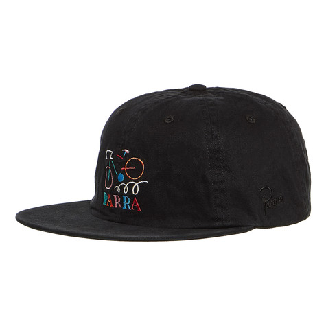 2d9f96bea17 Parra - Broken Frame 6 Panel Hat (Black)
