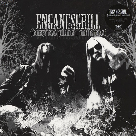 Fenriz Red Planet / Nattefrost - Engangsgrill Colored Vinyl Edition