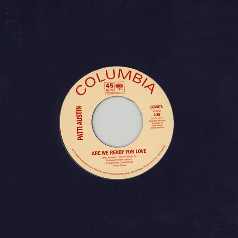 Patti Austin - Are You Ready For Love / Didn't Say A Word