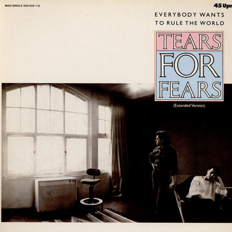Tears For Fears - Everybody Wants To Rule The World (Extended Version)
