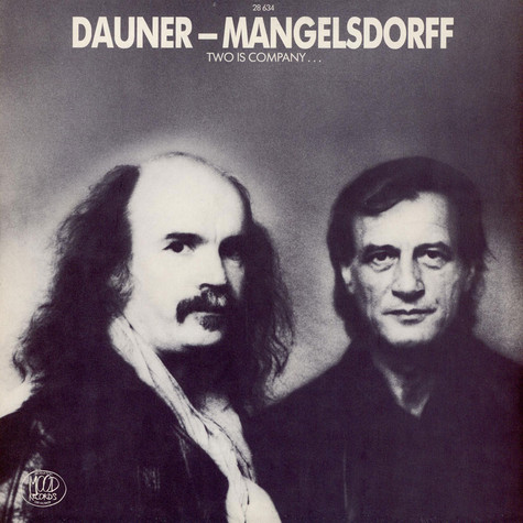 Wolfgang Dauner - Albert Mangelsdorff - Two Is Company...