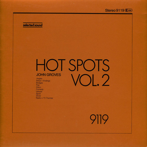John Groves - Hot Spots Vol. 2