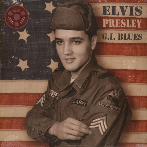 Elvis Presley - G.I. Blues Colored Vinyl Edition