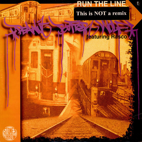 Peanut Butter Wolf - Run The Line / The Undercover (Clear & Present Danger)