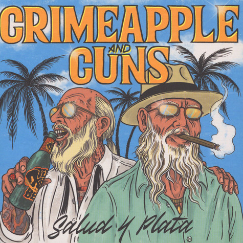 Crimeapple & Cuns - Salud Y Plata Black Vinyl Edition