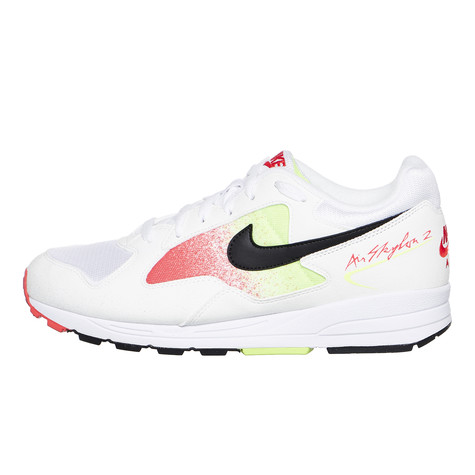 62ee952c39 Nike - Air Skylon II (White / Black / Volt / Habanero Red) | HHV