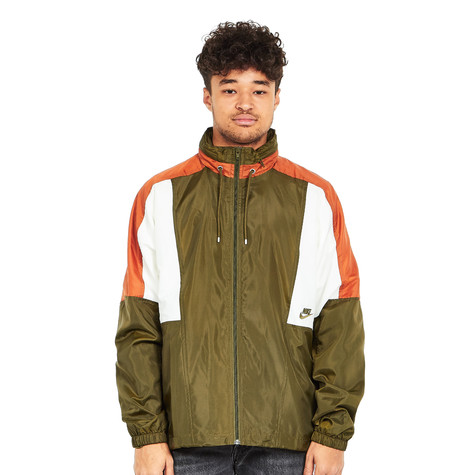 6826ad56f7f Nike - Re-Issue 1998 Woven Jacket (Olive Canvas / Dark Russet ...