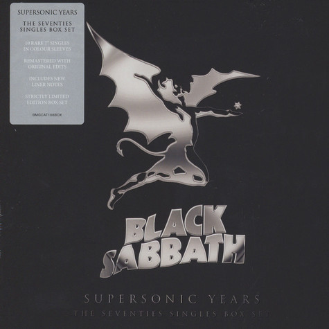 Black Sabbath - Supersonic Years:The Seventies Singles Box Set