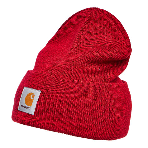 Carhartt WIP - Acrylic Watch Hat (Blast Red)  ad8a9f3e9d8