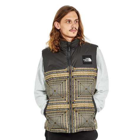 7c3ad410a9 The North Face - 1992 Nuptse Vest (Fir Green Lcd Capsule Print)